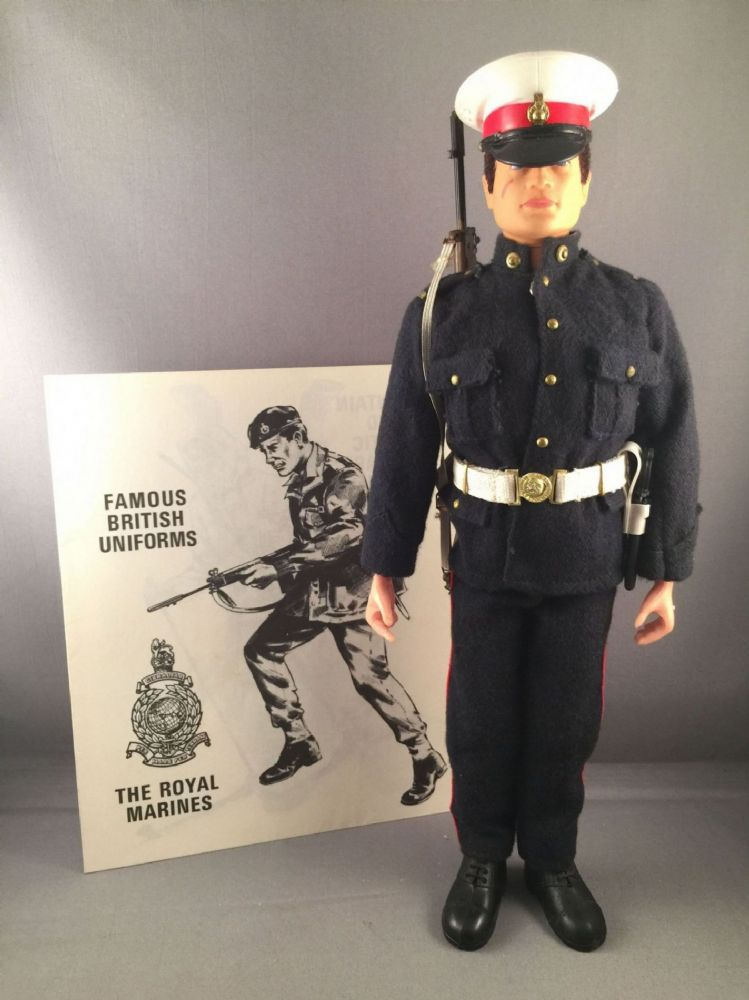 How Much Is Tax >> ACTION MAN - VINTAGE ACTION MAN - ROYAL MARINES no3 1st issue Dress Uniform